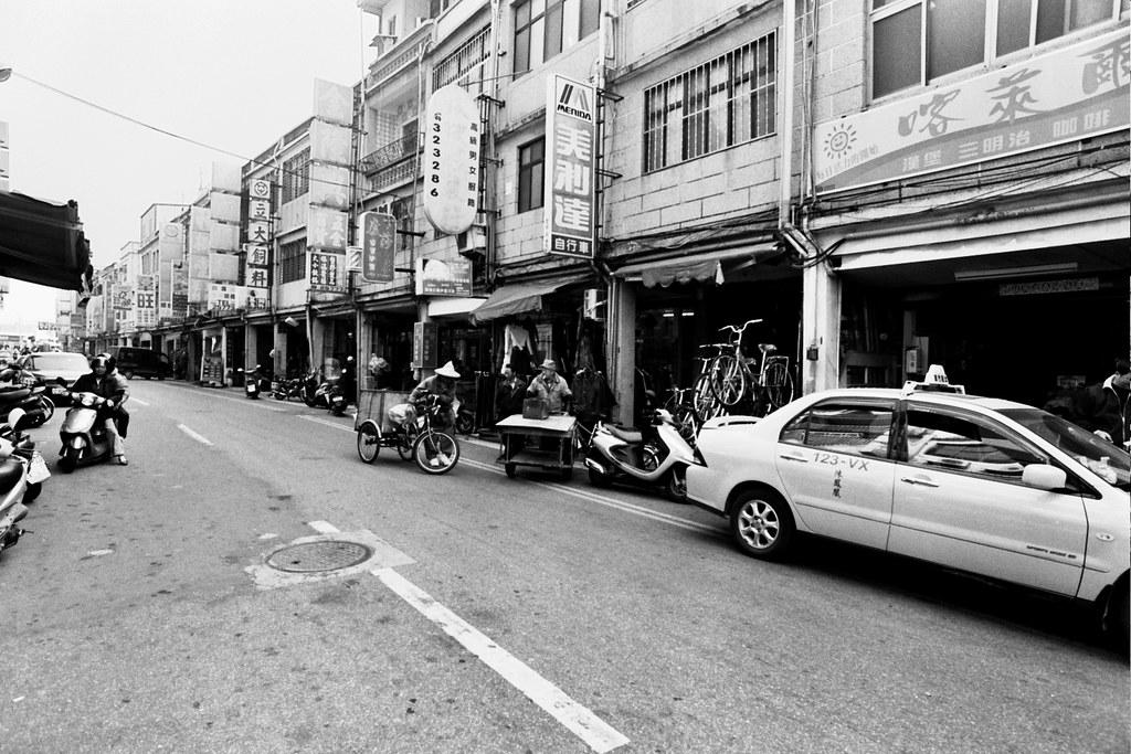street scene in Jincheng