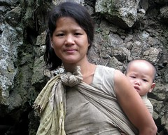 the Shaman's wife & baby (Linda DV) Tags: people baby india cute canon children geotagged kid child young mother culture clothes kind sling tribe ethnic minority 2008 motherchild enfant sevensisters motherandchild arunachal ethnology 7sisters arunachalpradesh northeastindia daporijo powershots5is minorit tagin minderheid lindadevolder