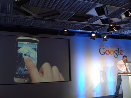 Liveblogging The Google Nexus One Phone Launch
