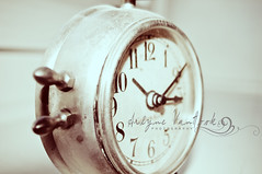 {Clocks} The future is something which everyone reaches at the rate of 60 minutes an hour, whatever he does, whoever he is.  C. S. Lewis (Arlyne VanHook Photography) Tags: winter clock nikon time numbers 2010 actions cslewis woahs d300s