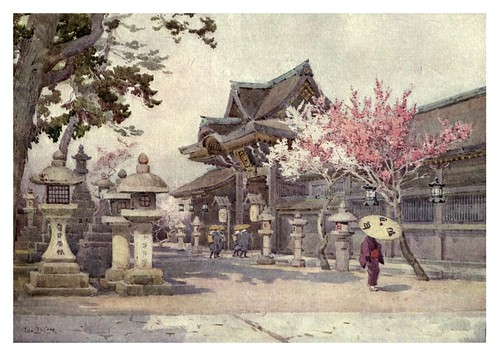 006- En Kitano Tenjin-The flowers and gardens of Japan (1908)-  Ella Du Cane