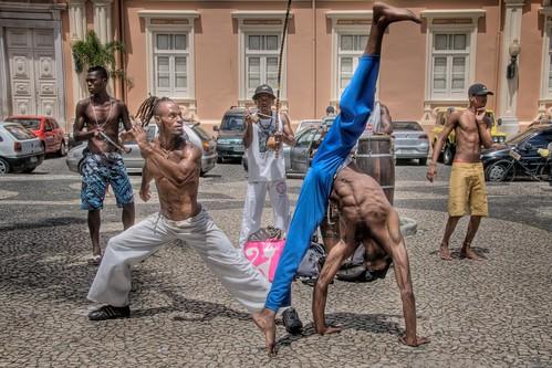 Capoeira in Pelourinho