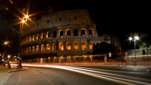The Coliseum by Night