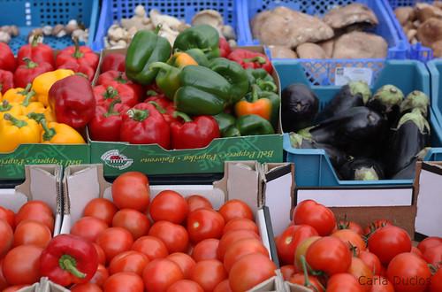 Feira de orgânicos do Nieuwmarkt - Amsterdam