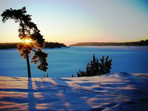 The Magic of extreme cold and snow at Oslo Fjord #1