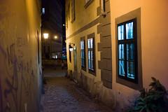 Griechengasse (Maharepa) Tags: vienna wien street leica austria sterreich nightscene viena somewhere narrow vienne eng nachtaufnahme gasse m9 griechengasse night111