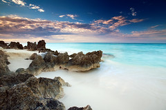 white sands (Dan. D.) Tags: ocean sea sky cloud seascape water colors landscape amazing explore filter nd 5d reverse polarizer scape frontpage nohdr rbfeatured