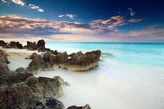 white sands (Dan. D.) Tags: ocean sea sky cloud seascape water colors landscape amazing explore filter nd 5d reverse polarizer scape frontpage nohdr rbfeatured