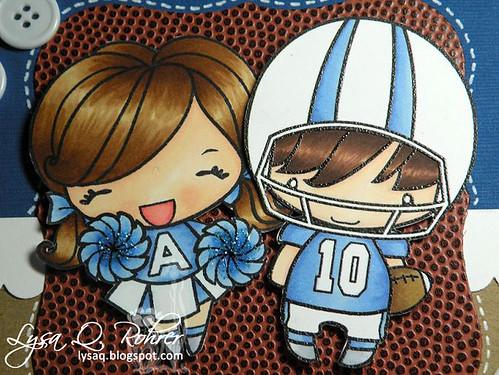 Cheer Anya & QB Ian