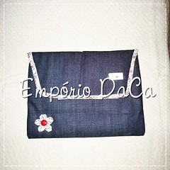 Capa de Notebook Jeans (emporiodaca) Tags: notebook handmade artesanato notebookbag capadenotebook empóriodaca