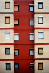 Apartment building at Bitola (Nick-K (Nikos Koutoulas)) Tags: building window architecture nikon apartment nikos 28 f28 nickk skopje bitola 3570 d700    koutoulas