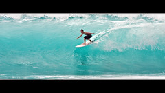 Banyans PM #3 (konaboy) Tags: ocean sport backlight hawaii surf afternoon action surfer wide wave surfing translucent bigisland pm kona kailuakona keala banyans 6156b