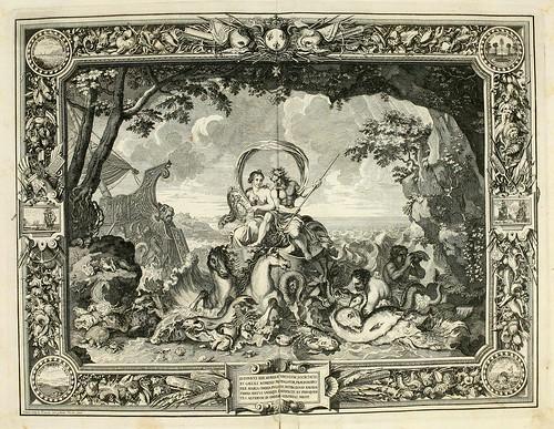 011- Los elementos-el agua-Tapisseries du roy, ou sont representez les quatre elemens 1690- Sebastien Le Clerc
