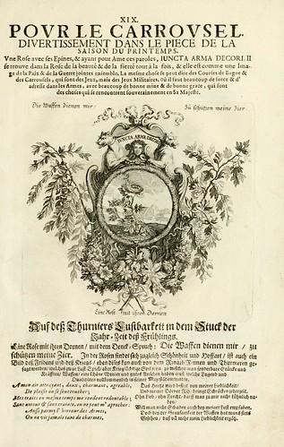 021- Divisa 3 del tapiz primavera-Tapisseries du roy, ou sont representez les quatre elemens 1690- Sebastien Le Clerc