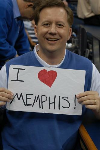 Chuck Roberts loves Memphis
