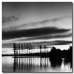 that (Sam Ili) Tags: light sunset sky sun lake reflection tree water silhouette night clouds canon pond soft australia symmetry canberra 450d canberrasunset yerrabi canon24105mm4