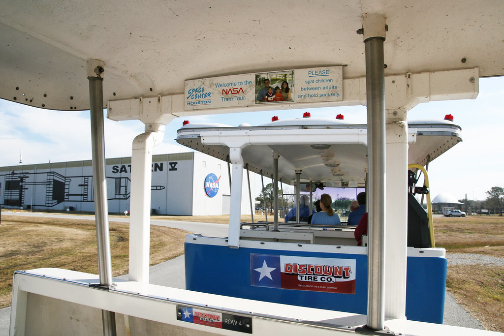 NASA Tour Tram