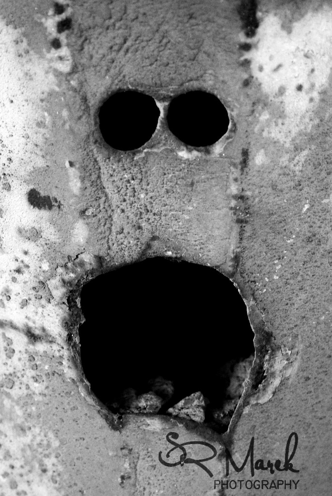 concrete face