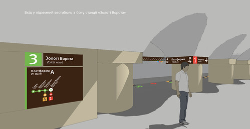 Метронавігація | Metro signage 2