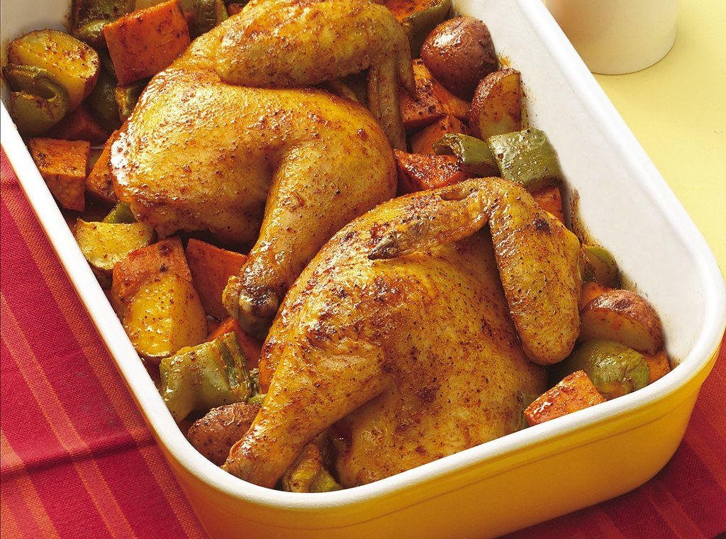 Recipe: Roast Cornish Hen with Vegetables