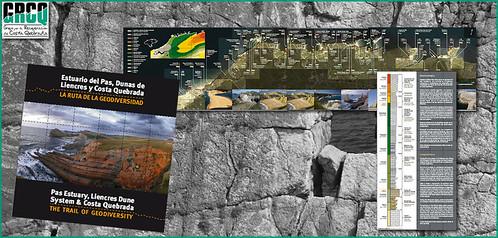 folleto Ruta de la Geodiversidad Costa Quebrada