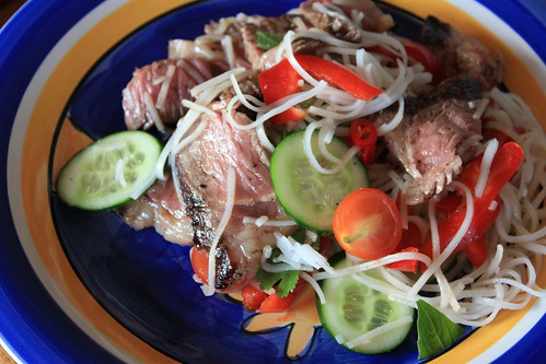 January Meal: Asian Salad