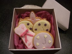 Selection of birthday cookies (Casa Costello) Tags: birthday cookies mixture