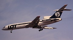 LOT Polish Airlines Tupolev Tu-154