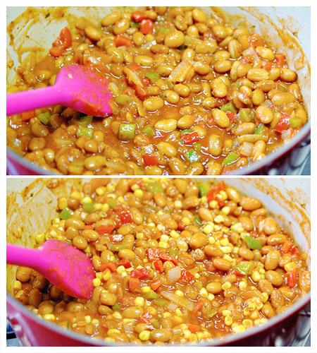 Chili Meatballs Casserole