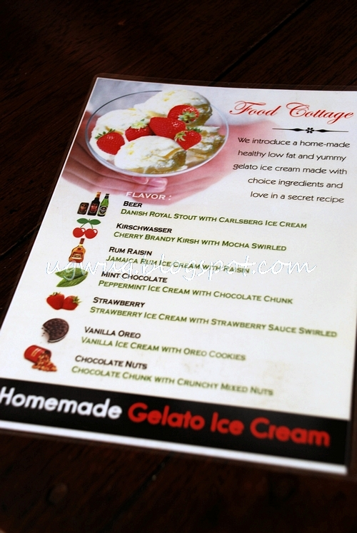 Food Cottage's Gelato