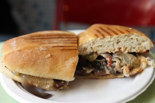 Steak Sandwich @ Cafe Habana
