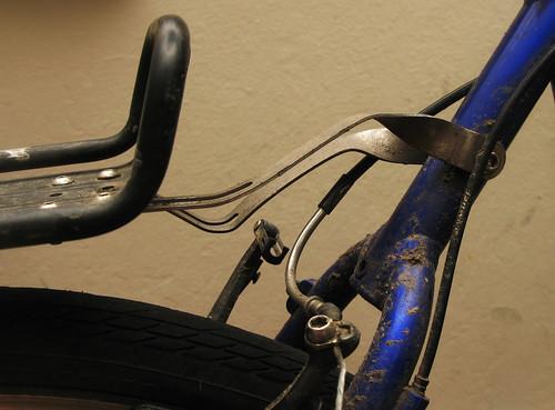 Brokey bike: Rack mounts