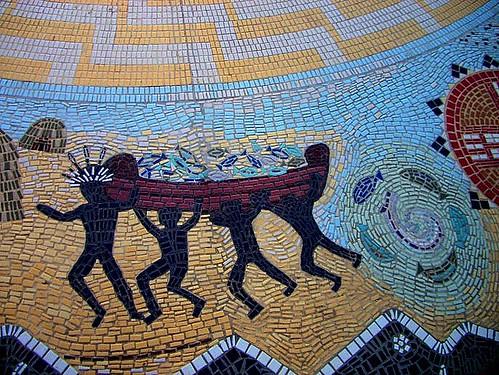 Chumash Circle Mosaic 2 Cabrillo Boulevard