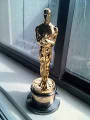 Photo of Oscar trophy
