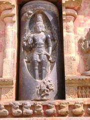 A sculpture in Darasuram temple