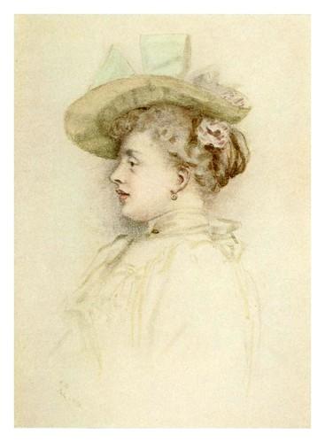 016- Portarretrato de una dama-Kate Greenaway 1905- Marion Spielmann y George Layard