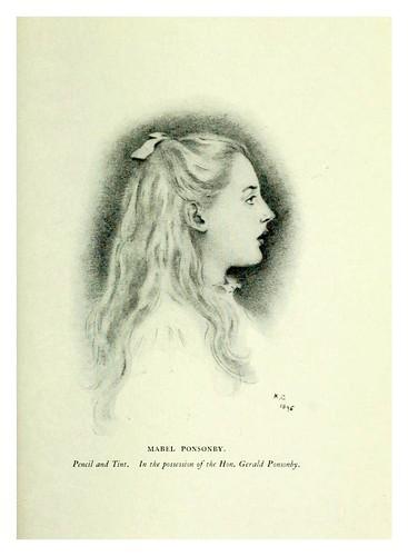 018- Portarretrato de Mabel Ponsonby-Kate Greenaway 1905- Marion Spielmann y George Layard