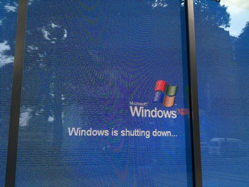 Windows is shutting down...