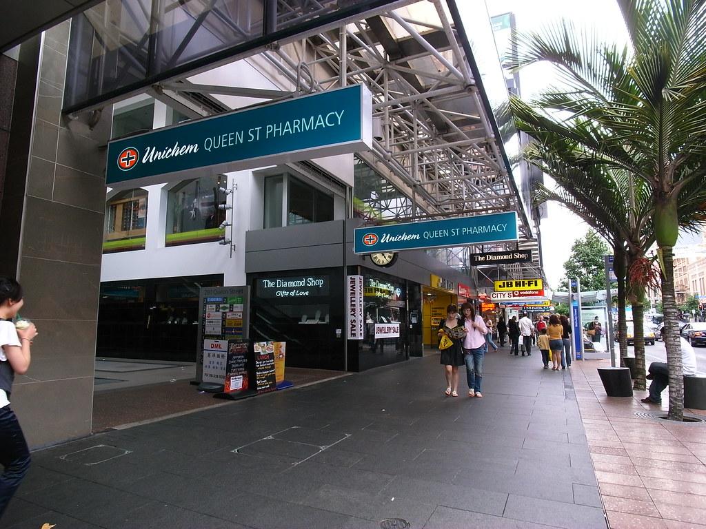 Unichem Pharmacy, similar to Watsons in HK