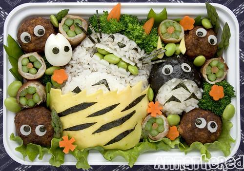 Setsubun Totoro bento!