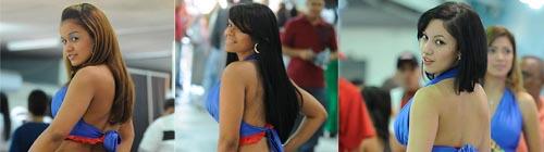 Tres sexys bellas dominicanas