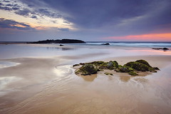 Miners Beach Sunset (Tim Donnelly (TimboDon)) Tags: sunset sea seascape coast australia nsw portmacquarie cokin visipix
