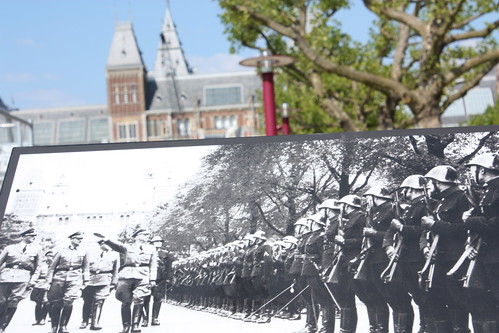 Nazi troops in Museumplein
