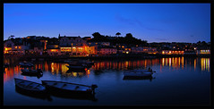 St Mawes (Johan J.Ingles-Le Nobel) Tags: ocean light sea summer sky seascape water night landscape boats coast landscapes fishing britain simple stmawes stmawesfestival 1a0f5b johanjingleslenobel yahoo:yourpictures=waterv2