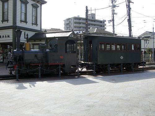 伊予鉄道D2形ディーゼル機関車とハ31形客車/Iyo Railway D2 Diesel Locomotive and Ha 3 Passenger Car