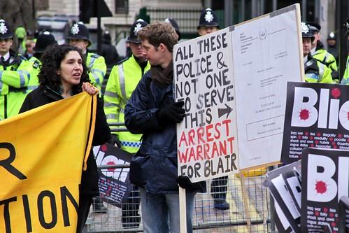 Chilcot Protest
