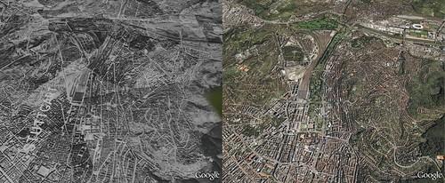 Google Maps WWII