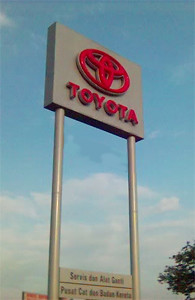 Toyota Sign sm