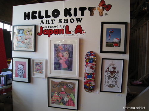 Hello Kitty Art Show. Hello Kitty Art Show