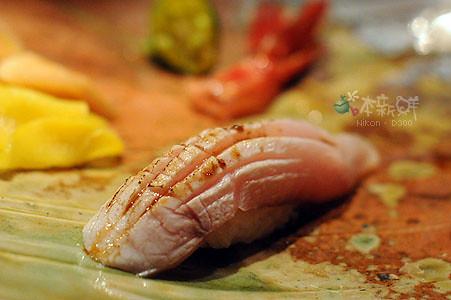 日本青甘魚魚背握壽司
